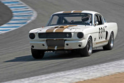 Craig Conley - 1966 Shelby GT350 in Group 4B - 1963-1966 GT Cars over 2500cc at the 2017 Rolex Monterey Motorsport Reunion run at Mazda Raceway Laguna Seca