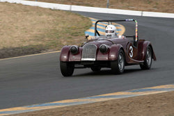Tom Morgan with 1956 Morgan 4 in Group 3 -  at the 2016 SVRA Sonoma Historics - Sears Point Raceway
