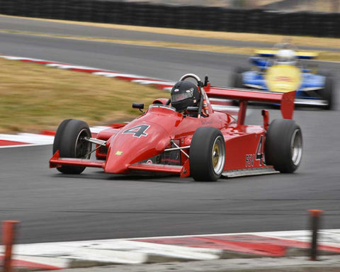 Ron Emmerson with 1985 Ralt RT5 in Group 9 - Wings and Slicks - Open Wheel Cars 1973-2008 at the 2015 Portland Vintage Racing Festival at Portland International Raceway