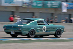 Chad Raynal - 1966 Shelby GT350 in Group 4B - 1963-1966 GT Cars over 2500cc at the 2017 Rolex Monterey Motorsport Reunion run at Mazda Raceway Laguna Seca