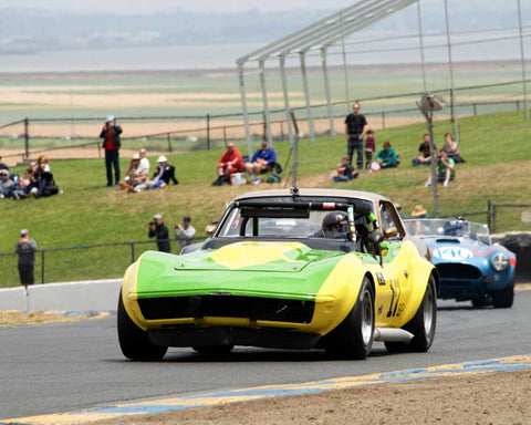 Randy Peterson with 1969 Chevrolet Corvette L88 with DSC in Group 6 - 1962-1972 Production and GT Cars Over 2000cc at the 2015 Sonoma Historic Motorsports Festival at Sonoma Raceway