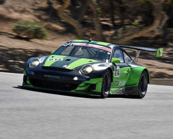 Cory Friedman with 2007 Porsche RSR in Group 1 - PCA Sholar-Friedman Cup at the 2015 Rennsport Reunion V, Mazda Raceway Laguna Seca