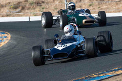 Randall Smith - 1969 Brabham BT 21 in Group 6B - Formula B at the 2017 CSRG Charity Challenge run at Sonoma Raceway