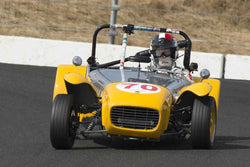 Enrico Tenni - 1962 Lotus Seven in Group 3 at the 2017 Sonoma Historic Motorsports Festivalrun at Sonoma Raceway