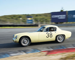 Henry Moore with 1962 Lotus Elite at the 2016 HMSA LSR Invitational I at Mazda Raceway Laguna Seca