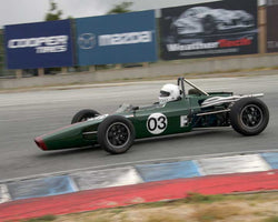 Tomas LaCosta with 1970 Lola T204 in Group 2  at the 2016 HMSA Spring Club Event - Mazda Raceway Laguba Seca