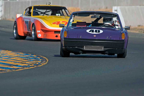 Jon Wactor - 1970 Porsche 914/6 in Group 8 - Trans-AM, SCCA Sedan &NIMSA GTU/GTO at the 2017 CSRG Charity Challenge run at Sonoma Raceway