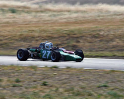 Locke de Bretteville driving his 1969 Palliser-Winkelmann WDB2 in Group 6/7 at the 2015 CSRG Thunderhill Rolling Thunder at Thunderhill Raceway