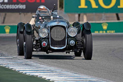 Richard Morrison - 1939 Lagonda V12 in Group 2A - 1927-1951 Racing Cars at the 2017 Rolex Monterey Motorsport Reunion run at Mazda Raceway Laguna Seca