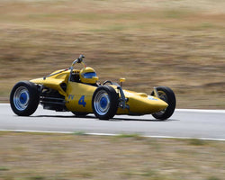 Jay McEnroe driving his 1967 Beach Mk5C in Group 4 at the 2015 CSRG Thunderhill Rolling Thunder at Thunderhill Raceway