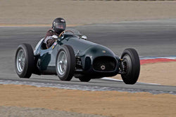 Mark Sange - 1952 HWM Grand Prix Tasman in Group 2A - 1927-1951 Racing Cars at the 2017 Rolex Monterey Motorsport Reunion run at Mazda Raceway Laguna Seca