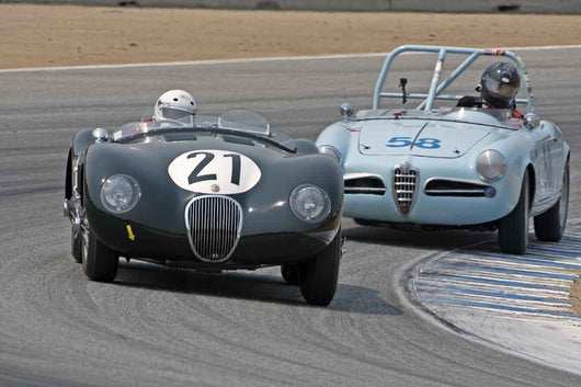 Ames Hulbert -  1953 Jaguar C-Type in Group 1B  at the 2016 Rolex Monterey Motorsport Reunion - Mazda Raceway Laguna Seca