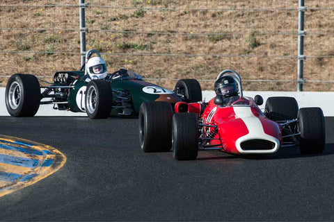 Greg Vroman - 1969 Brabham BT29 in Group 6B - Formula B at the 2017 CSRG Charity Challenge run at Sonoma Raceway