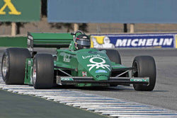 James Hagan - 1983 Tyrrell 011 in Group 7B  at the 2016 Rolex Monterey Motorsport Reunion - Mazda Raceway Laguna Seca