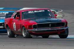 Ray Evernham - 1970 Ford Mustang Boss 302 - Group 6 at the 2017 Brickyard Vintage Racing Invitationalrun at Indianapolis Motor Speedway