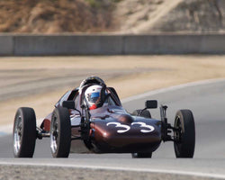 J. Dale Barry driving his Caldwell D-13 in Group 1 at the 2015 HMSA Spring Club Event at Mazda Raceway Laguna Seca