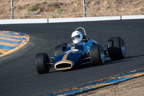Chris Rose - 1969 Brabham BT29 in Group 6B - Formula B at the 2017 CSRG Charity Challenge run at Sonoma Raceway