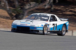 Ralph Thomas - 1985 Mazda RX-7 in Group 7B - 1973 1991 IMSA GTU, GTO / Trans AM Cars at the 2017 Rolex Monterey Motorsport Reunion run at Mazda Raceway Laguna Seca