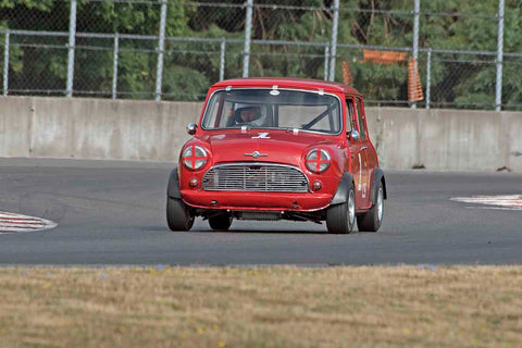 Brian Waters - 1960 Mini Cooper in Group 1/3/4 at the 2017 SVRA Portland Vintage Racing Festivalrun at Portland International Raceway