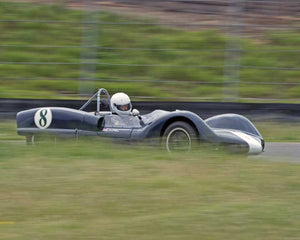 Paul Adams with 1962 Elva Mk 6 in Group 4  at the 2016 CSRG David Love Memorial - Sears Point Raceway