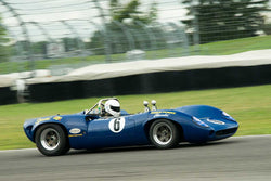 Dan Cowdrey - 1966 Lola T70 MK II - Group 5 at the 2017 Brickyard Vintage Racing Invitationalrun at Indianapolis Motor Speedway