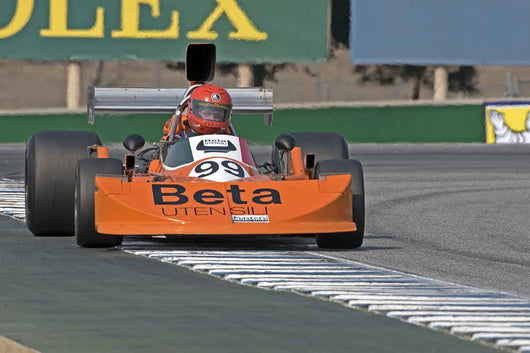 James King - 1976 March 761 in Group 7B  at the 2016 Rolex Monterey Motorsport Reunion - Mazda Raceway Laguna Seca