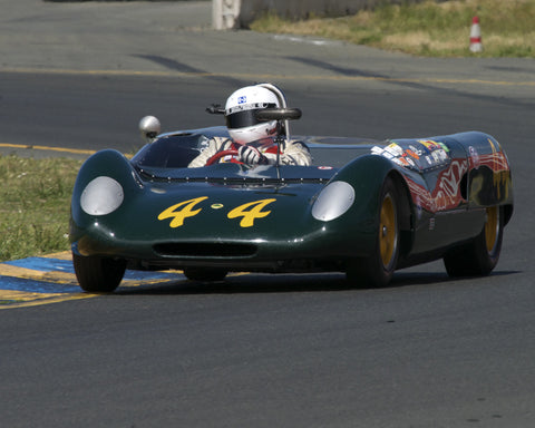 Michael Summers driving his 1962 Lotus 23B in Group 4 at the 2015 CSRG David Love Memorial Vintage Car Road Races at Sonoma Raceway