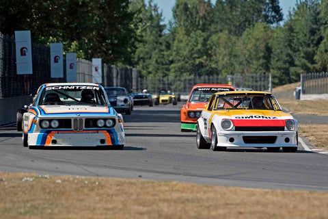 Group 8 at the 2017 SVRA Portland Vintage Racing Festival run at Portland International Raceway