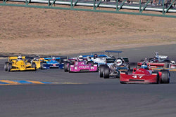 Group 7 - F1, F5000, Formula Atlantic & FIA Gp 6&7 at the 2017 CSRG Charity Challenge run at Sonoma Raceway