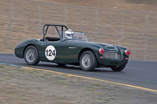 Gary Black - 1960 Austin-Healey 3000 in Group 1 -  at the 2016 Charity Challenge - Sonoma Raceway