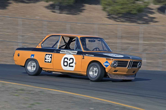 Terry Forland - 1968 BMW 2002 TA in Group 8 -  at the 2016 Charity Challenge - Sonoma Raceway