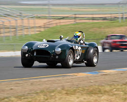 John McKenna with 1963 Shelby 289 Cobra in Group 6 - 1962-1972 Production and GT Cars Over 2000cc at the 2015 Sonoma Historic Motorsports Festival at Sonoma Raceway