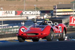 Mac McGarry - 1965 Genie MK 10 in Group 4 -  at the 2016 Charity Challenge - Sonoma Raceway