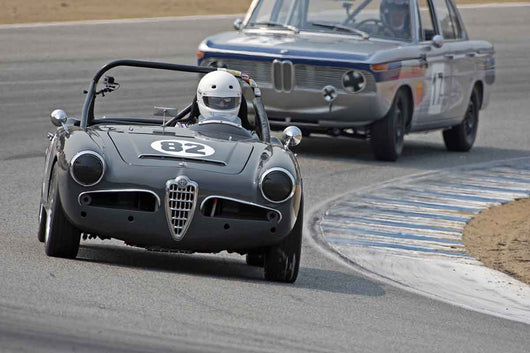 Dave Brengle - 1964 Alfa Romeo Giulia Spider in Group 4B  at the 2016 Rolex Monterey Motorsport Reunion - Mazda Raceway Laguna Seca