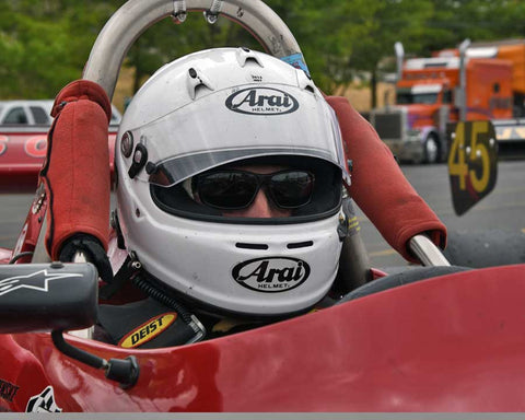 Robert Merritt with 1985 Ralt RT5 in Group 9 - Wings and Slicks - Open Wheel Cars 1973-2008 at the 2015 Portland Vintage Racing Festival at Portland International Raceway