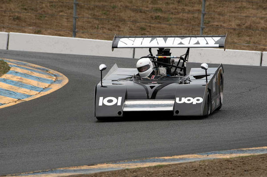 Dennis Losher with 1971 Shadow MKII in Group 11 at the 2016 SVRA Sonoma Historics - Sears Point Raceway