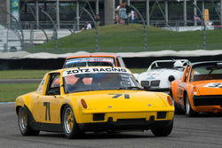 Tom Briest - 1970 Porsche 914/6 - Group 8 at the 2017 Brickyard Vintage Racing Invitational run at Indianapolis Motor Speedway