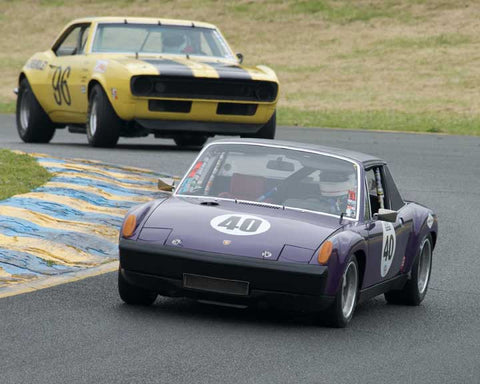Martin Baker with 1975 Porsche 914with6 in Group 8 - at the 2016 CSRG David Love Memorial - Sears Point Raceway