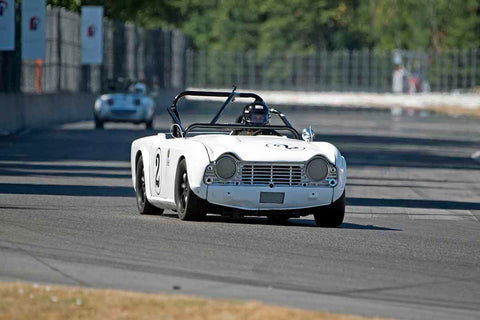 Trevor Pearson - 1962 Triumph TR4 in Group 1/3/4 at the 2017 SVRA Portland Vintage Racing Festivalrun at Portland International Raceway