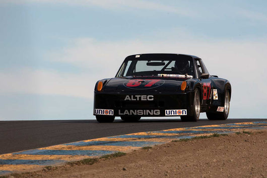 William Lyon with 1970 Porsche 914/6 IMSA in Group 12 at the 2016 SVRA Sonoma Historics - Sears Point Raceway