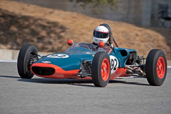 Don Thallon - 1963 MRC 22 in Group 5B - 1961-1963 Formula Jr. - disc brakes at the 2017 Rolex Monterey Motorsport Reunion run at Mazda Raceway Laguna Seca