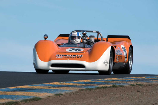 Lilo Zicron with 1968 Lola T160 Spyder in Group 11 at the 2016 SVRA Sonoma Historics - Sears Point Raceway