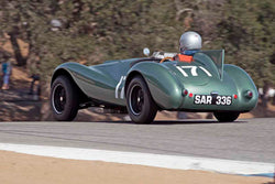 Jack Perkins - 1954 Warrior Bristol in Group 5A - 1947-1955 Sports Racing and GT Cars at the 2017 Rolex Monterey Motorsport Reunion run at Mazda Raceway Laguna Seca