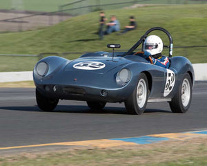 Jim Derich with 1959 Porsche Devin D in Group 9 - at the 2016 CSRG David Love Memorial - Sears Point Raceway
