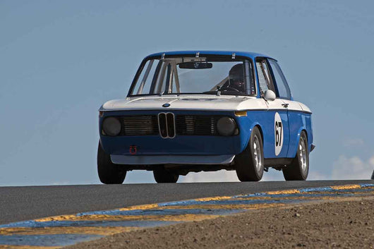 Mark Rincon - 1967 BMW 2002 in Group 8 -  at the 2016 Charity Challenge - Sonoma Raceway