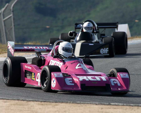 Martin Lauber driving his Chevron B39 in Group 2 at the 2015 HMSA Spring Club Event at Mazda Raceway Laguna Seca
