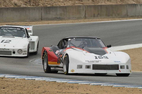 Mike Thurlow - 1976 Chevrolet Corvette in Group 4A  at the 2016 Rolex Monterey Motorsport Reunion - Mazda Raceway Laguna Seca