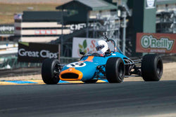 Tim Monahan - 1969 Brabham BT29 in Group 6B - Formula B at the 2017 CSRG Charity Challenge run at Sonoma Raceway