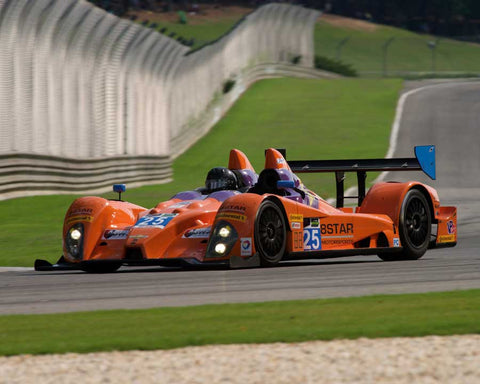 Lawrence Huang with 2009 Oreca FLM 09 in Group 5 at the 2015 HMSA Barber Historics