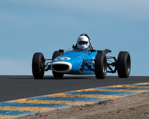 Ross Lindell with 1969 Ford Merlyn Mk11A in Group 6 at the 2016 CSRG David Love Memorial - Sears Point Raceway